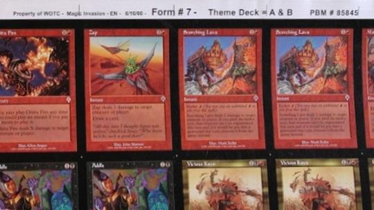 4 Mages/' Contest = Red Invasion Mtg Magic Rare 4x x4