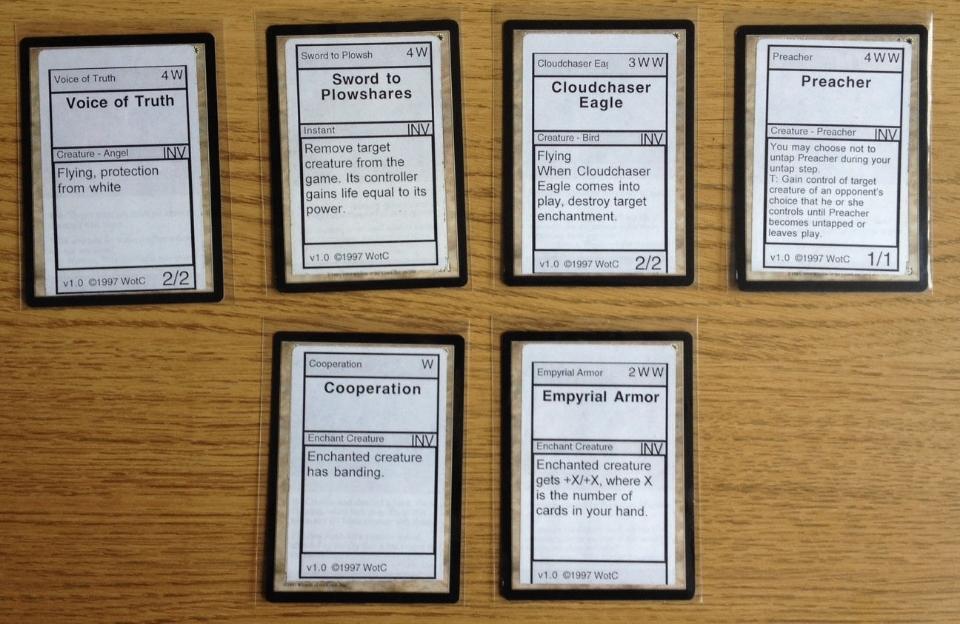 The Magic Librarities – Magic Invitational Cards