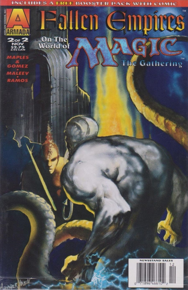 1995 Alex Maleev The Gathering No.2 Fallen Empires on the World of Magic