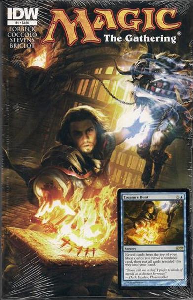 IDW Sealed Treasure Hunt Promo Card Comic Book X1 Magic cards MTG