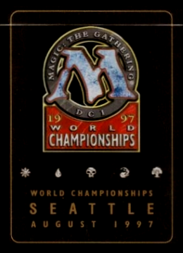 2002 ~ Heavily Played World Championship Gold Border Brushland Brian Kibler