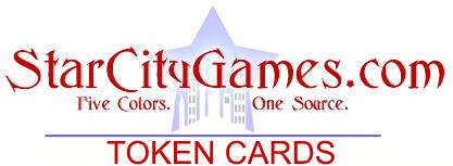 FOIL Acroakin/' Crusader Starcity Games Game Night Creature Collection Token SCG